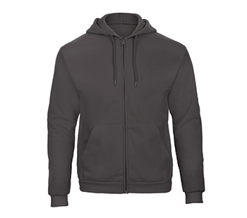 Hooded Full Zip Sweatshirt 50/50