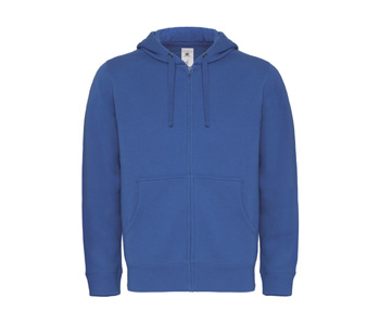 Hooded Full Zip Men blauw