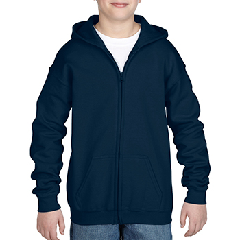 Heavy blend Kid's Full zip Hooded Sweatshirt