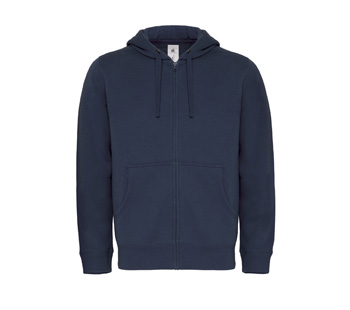 Hooded Full Zip Men navy