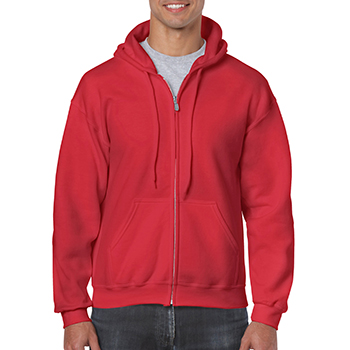 Heavy blend Full Zip Hooded Sweatshirt